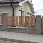 plotové dílce dřevěné