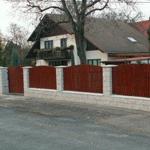plastové plotové dílce